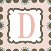 Girls Monogram Canvas Reproduction - D