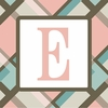Girls Monogram Canvas Reproduction - E