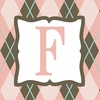 Girls Monogram Canvas Reproduction - F