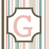 Girls Monogram Canvas Reproduction - G