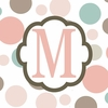 Girls Monogram Canvas Reproduction - M