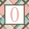 Girls Monogram Canvas Reproduction - O