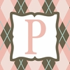 Girls Monogram Canvas Reproduction - P