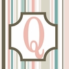 Girls Monogram Canvas Reproduction - Q
