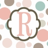 Girls Monogram Canvas Reproduction - R