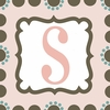 Girls Monogram Canvas Reproduction - S
