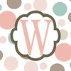 Girls Monogram Canvas Reproduction - W