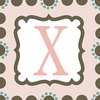 Girls Monogram Canvas Reproduction - X
