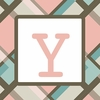 Girls Monogram Canvas Reproduction - Y