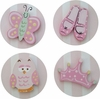 Girls Room Drawer Knobs - Set of 4