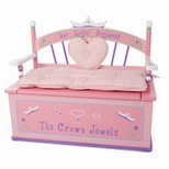 Girls Toy Boxes & Chests