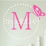Girls Wall Stickers by Alphabet Garden