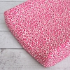 Girly Pink Leopard Changing Pad Cover