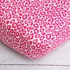 Girly Pink Leopard Crib Sheet