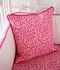 Girly Pink Leopard Ruffle Crib Bedding Set