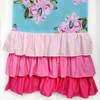 Girly Tiny Bouquet Ruffle Window Panels
