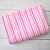 Girly Zig Zag Crib Blanket