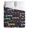 Glasses Duvet Cover