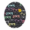 Glasses Oval Magnet Board
