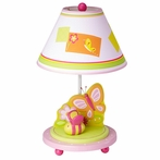 Gleeful Bugs Tabletop Lamp