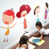 Glitzy Girls Fabric Wall Decals