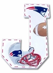 Go Patriots Hand Painted Wall Letters