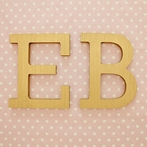 Gold Block Wall Letters