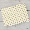 Gold Dot Crib Blanket