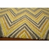Gold Geo Chevron Rug