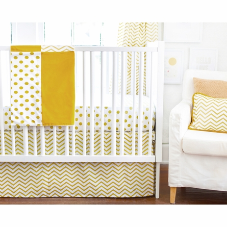 Gold Rush Baby Blanket