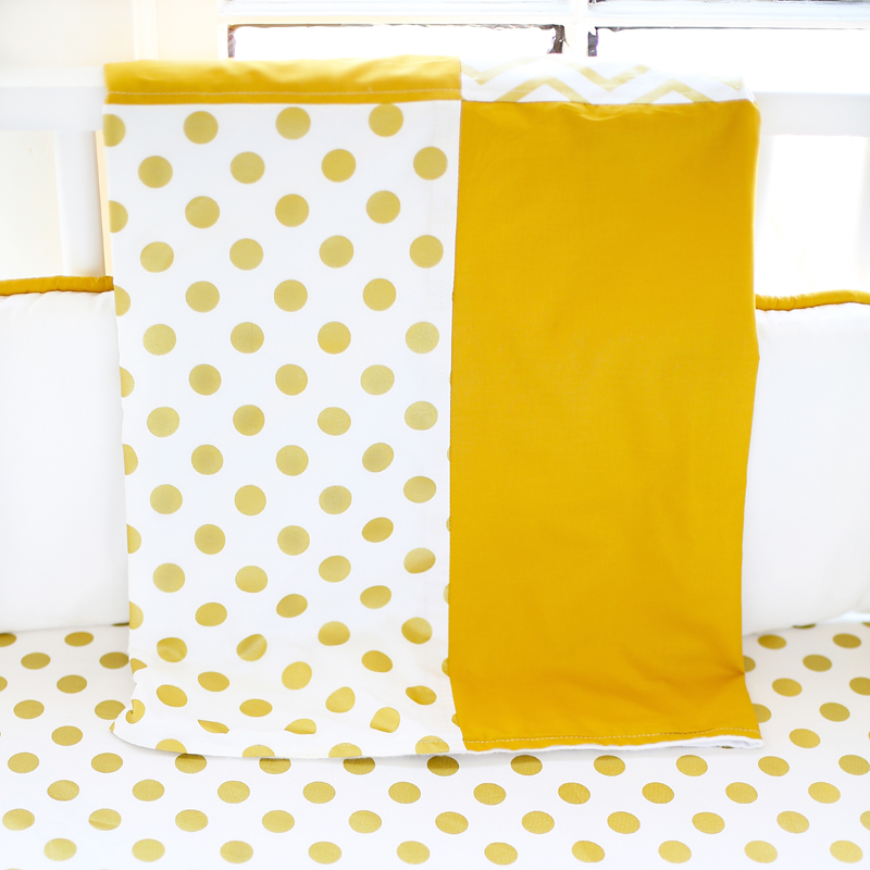 Gold Rush Crib Bedding Set By New Arrivals Inc