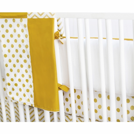 Gold Rush Crib Bedding Set