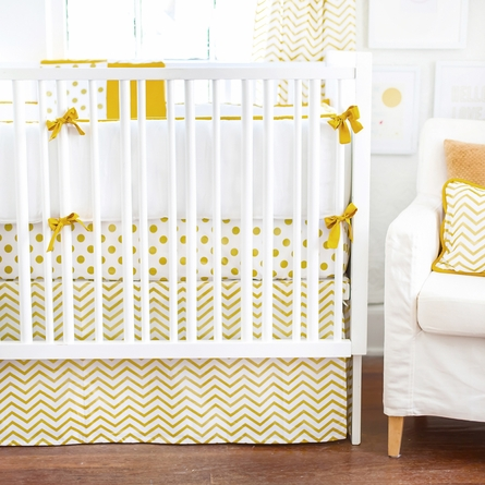 Gold Rush Crib Bumper