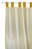 Gold Rush Curtain Panels - Set of 2