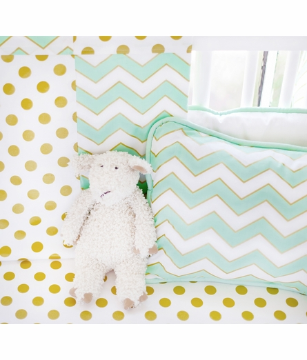 Gold Rush Mist Baby Blanket