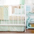 Gold Rush Mist Crib Bedding Set