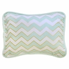 Gold Rush Mist Throw Pillow