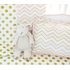 Gold Rush Pink Crib Bedding Set