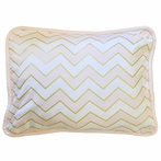 Gold Rush Pink Throw Pillow