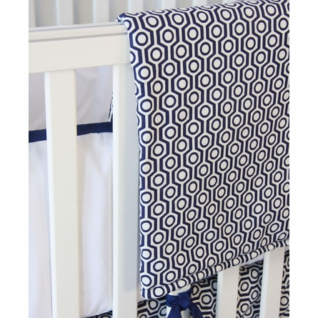 Golden Boy Navy Crib Bedding Set