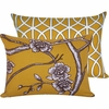 Golden Spring Boudoir Pillow