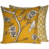 Golden Spring Large Throw Pillow