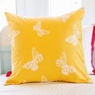 Goldenrod Butterfly Pillow Sham