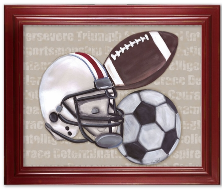 Good Sport Framed Canvas Reproduction