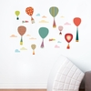 Goodbye! Parachute Wall Decal