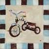 Grace the Tricycle Canvas Reproduction