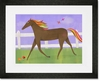 Graceful Gallop Framed Art Print