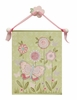 Gracie's Garden Hand Painted Canvas Banner