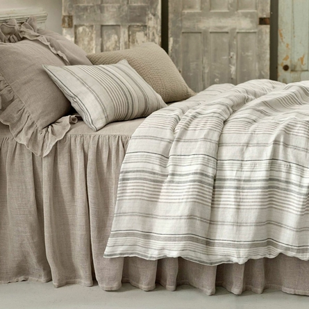 Gradation Linen Duvet Cover