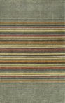 Gramercy Middle Stripes Gray Rug